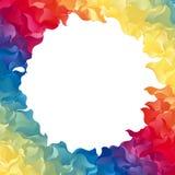 Kleurrijk abstract frame Royalty-vrije Stock Foto's