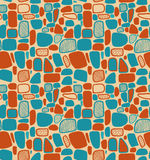 Kleurrijk abstract geometrisch patroon Decoratieve tegels stock illustratie