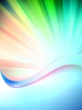 Kleurrijk abstract malplaatje als achtergrond. EPS 10 Stock Foto
