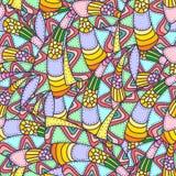 Kleurrijk abstract naadloos patroon Royalty-vrije Stock Foto