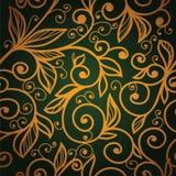 Kleurrijk abstract naadloos patroon met wervelingen Stock Afbeeldingen