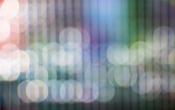 Kleurrijk abstract onduidelijk beeld als achtergrond, geel rood, groen, blauw, wh Stock Foto's