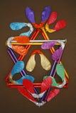 Kleurrijk abstract ontwerp Stock Fotografie