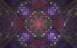 Kleurrijk abstract patroon van pixel en rassenbarrières voor behang en achtergronden Stock Foto's