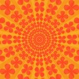 Kleurrijk Abstract Psychedelisch Art Background Royalty-vrije Stock Afbeelding