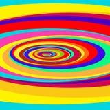 Kleurrijk Abstract Psychedelisch Art Background stock illustratie