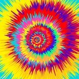 Kleurrijk Abstract Psychedelisch Art Background Royalty-vrije Stock Foto