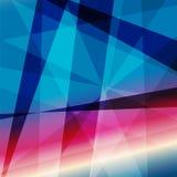 Kleurrijk Abstract Psychedelisch Art Background Stock Afbeelding