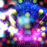 Kleurrijk Abstract Psychedelisch Art Background Vector illustratie stock illustratie