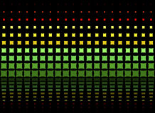 Kleurrijk Abstract Psychedelisch Art Background Vector Illustratio Royalty-vrije Stock Foto