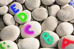 Kleurrijk alfabet Stock Foto