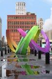 Kleurrijk Art Where Miljard Dollarsproject is nu Aan de gang royalty-vrije stock foto's