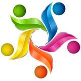 Kleurrijk artistiek ontwerp Stock Foto's