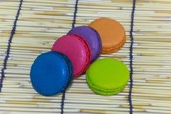 Kleurrijk assortiment van theekoekjes Stock Fotografie