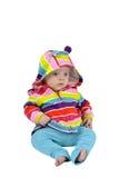 Kleurrijk babymeisje Royalty-vrije Stock Afbeeldingen