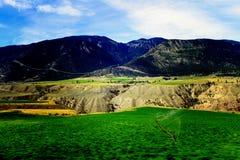 Kleurrijk BC Binnenlands Plateau Royalty-vrije Stock Fotografie
