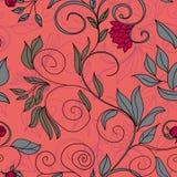 Kleurrijk bloemen naadloos patroon Stock Foto's
