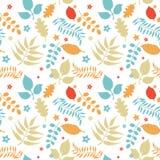 Kleurrijk bloemen naadloos patroon Royalty-vrije Stock Foto