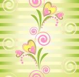 Kleurrijk bloemen vector naadloos patroon Stock Afbeelding