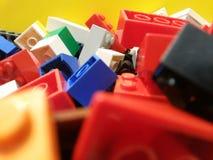 Kleurrijk blok Stock Foto