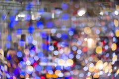 Kleurrijk blured lichte achtergrond Stock Foto's
