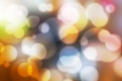 Kleurrijk Bokeh-Kleurrijk Vaag Behang Als achtergrond Royalty-vrije Stock Afbeelding