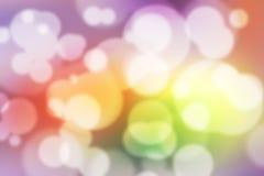 Kleurrijk Bokeh-Kleurrijk Vaag Behang Als achtergrond Royalty-vrije Stock Afbeeldingen