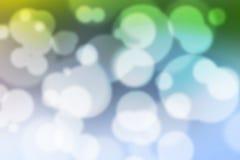 Kleurrijk Bokeh-Kleurrijk Vaag Behang Als achtergrond Royalty-vrije Stock Fotografie