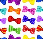 Kleurrijk boog naadloos patroon Stock Foto's