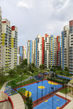 Kleurrijk buurtlandgoed Royalty-vrije Stock Fotografie