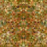 Kleurrijk Chaotisch Veelhoekenmozaïek van ononderbroken driehoeken royalty-vrije illustratie