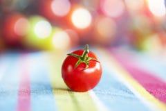 Kleurrijk Cherry Tomato Stock Foto's