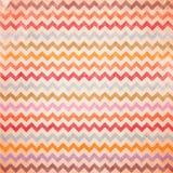 Kleurrijk Chevronpatroon voor de dag van eierenpasen Stock Afbeeldingen