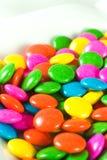 Kleurrijk chocoladesuikergoed Stock Afbeeldingen