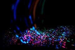 Kleurrijk confettienlicht Royalty-vrije Stock Foto