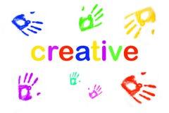 Kleurrijk creativiteitconcept stock afbeeldingen