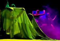 Kleurrijk dansend fragment Royalty-vrije Stock Foto's