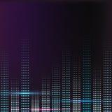 Kleurrijk de muziekvolume van het spectrum Royalty-vrije Stock Afbeelding