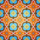 Kleurrijk Decoratief Naadloos Patroon Stock Foto's