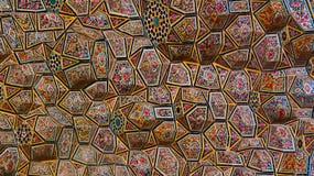 Kleurrijk decoratief plafond Stock Foto's