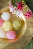 Kleurrijk dessert Royalty-vrije Stock Foto's