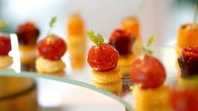 Kleurrijk dessertbuffet Royalty-vrije Stock Afbeelding