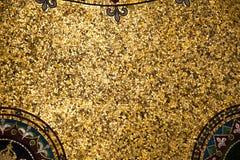 kleurrijk die mozaïek met kleine kleurrijke elementen wordt gemaakt stock fotografie