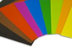 Kleurrijk Document Stock Fotografie