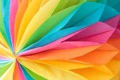 Kleurrijk document patroon Stock Foto's
