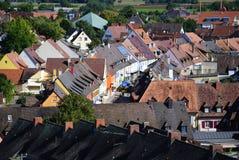 Kleurrijk dorp Royalty-vrije Stock Foto's