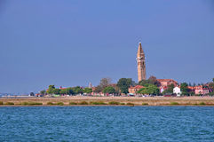 Kleurrijk eiland Burano, dichtbij Venetië, Italië Royalty-vrije Stock Foto