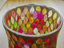 Kleurrijk en abstract glas Royalty-vrije Stock Afbeeldingen