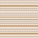 Kleurrijk etnisch naadloos patroonontwerp Stock Afbeelding