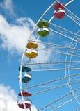 Kleurrijk ferriswiel Stock Afbeeldingen